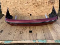 2000 BMW 5 SERIES E39 REAR BUMPER SALOON 520 525 530 + REINFORCENT BAR RED